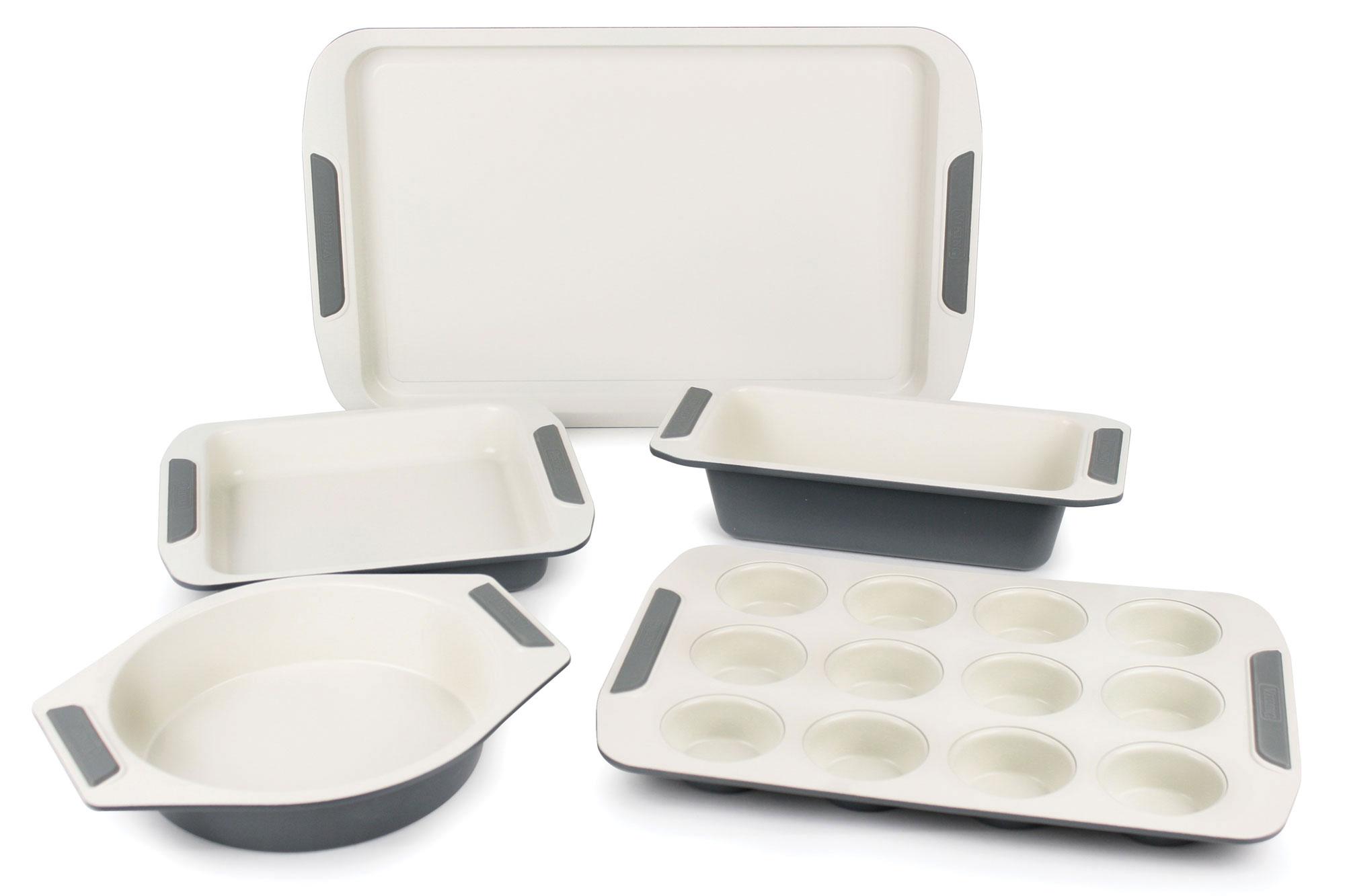 Viking Bakeware Set Ceramic Nonstick 5 Piece Baking Pans