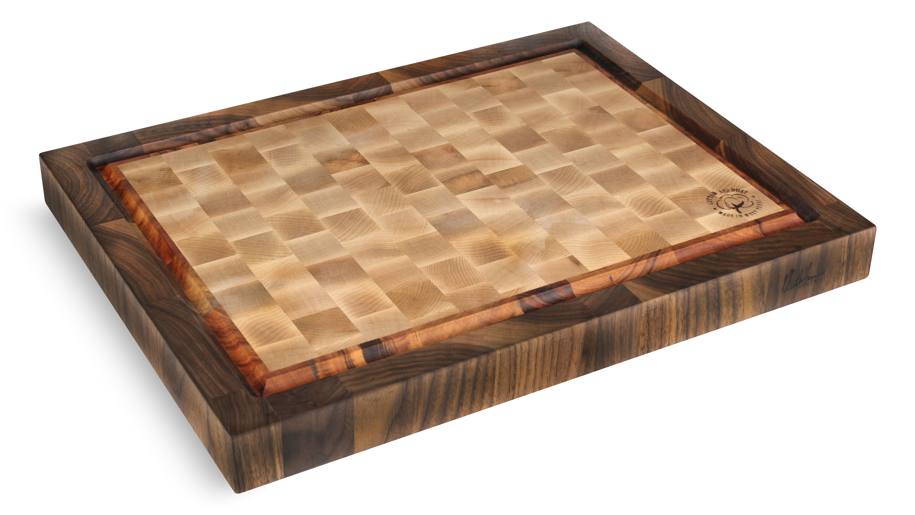 Cotton And Dust 24x18x2 Pro Series Model 588 End Grain Cutting Board