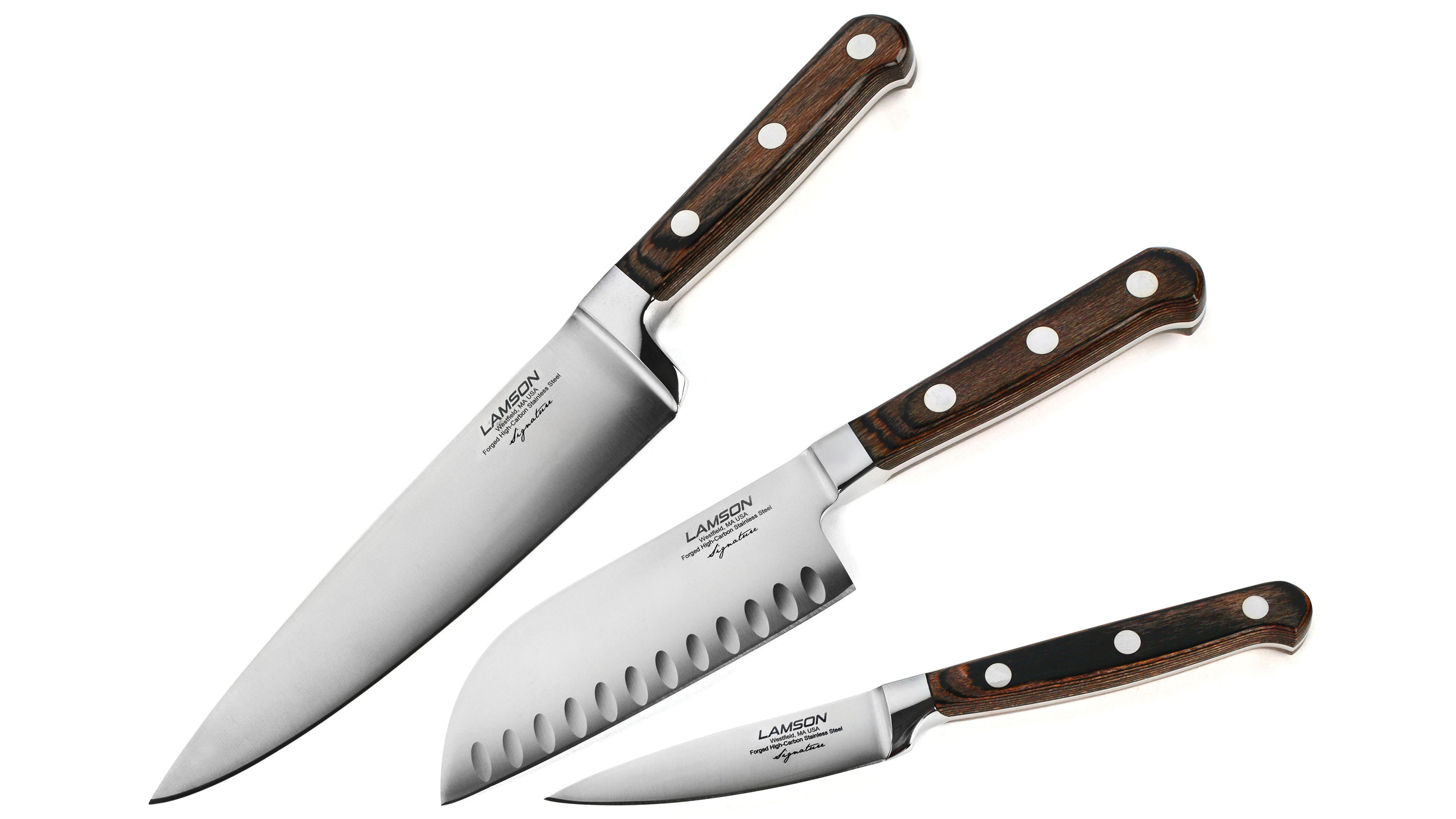 Lamson Signature Knife Set 3 Piece Cutlery And More
