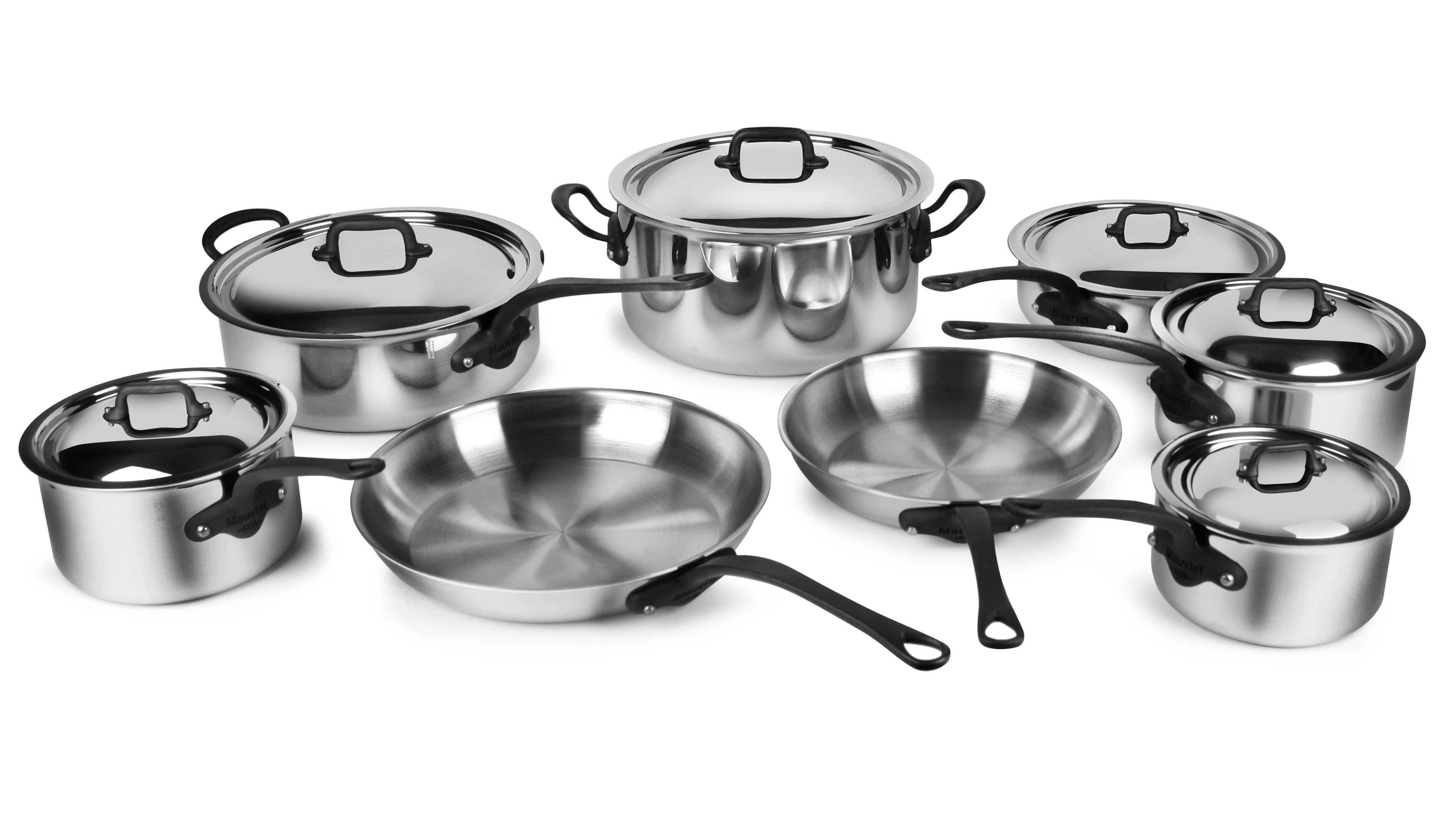 Mauviel Stainless Steel Cookware Set M Cook Pro 14 Piece