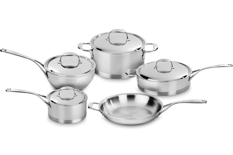 Demeyere Atlantis Cookware Set 9 Piece Stainless Steel
