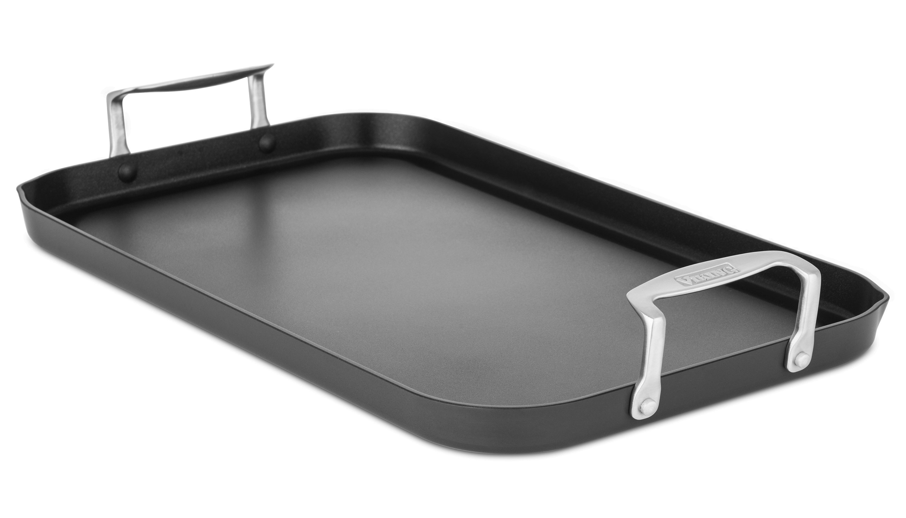 Viking Hard Anodized Nonstick Double Burner Griddle 18 x 10inch
