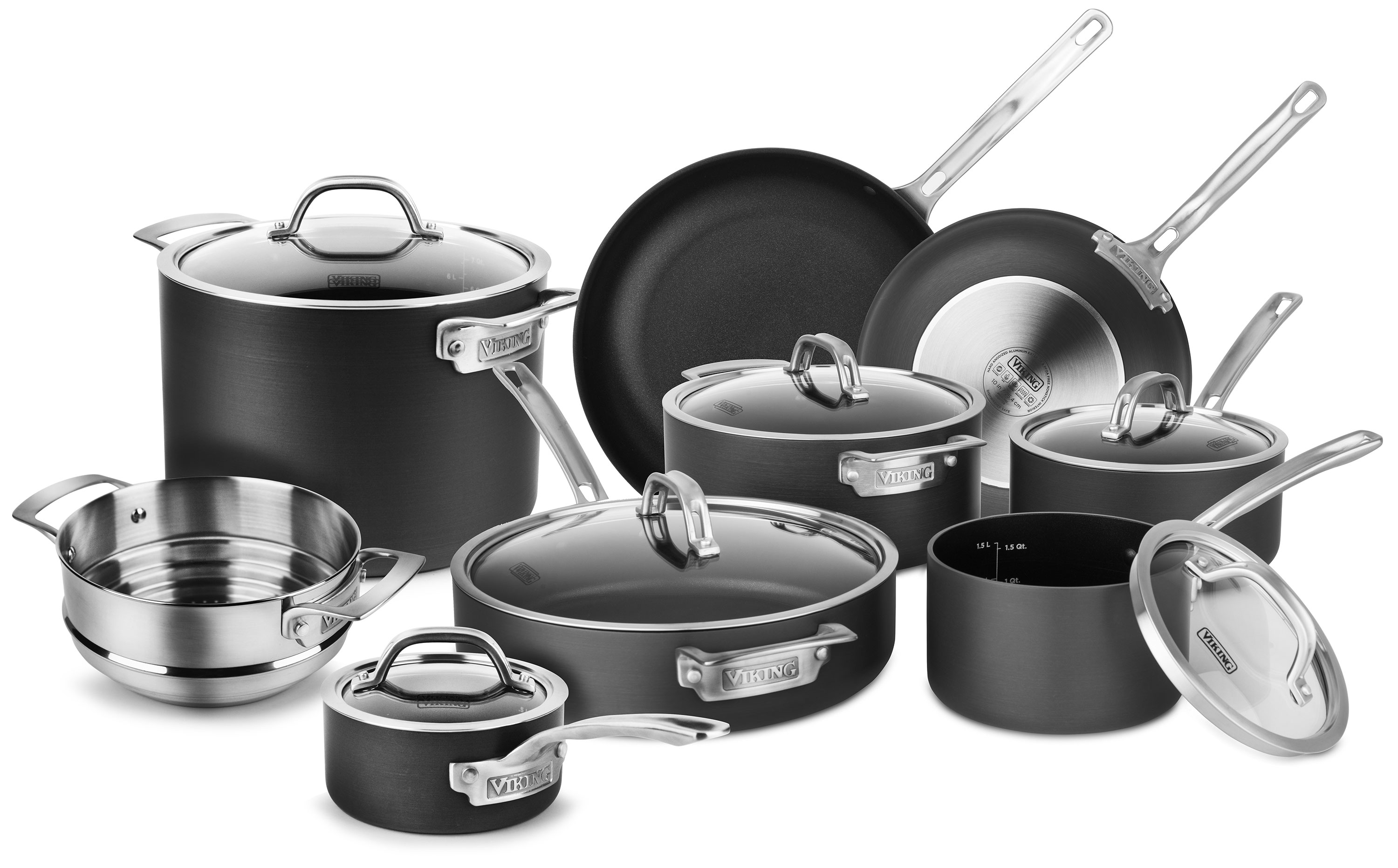 Viking Nonstick Cookware Set 14 Piece Hard Anodized