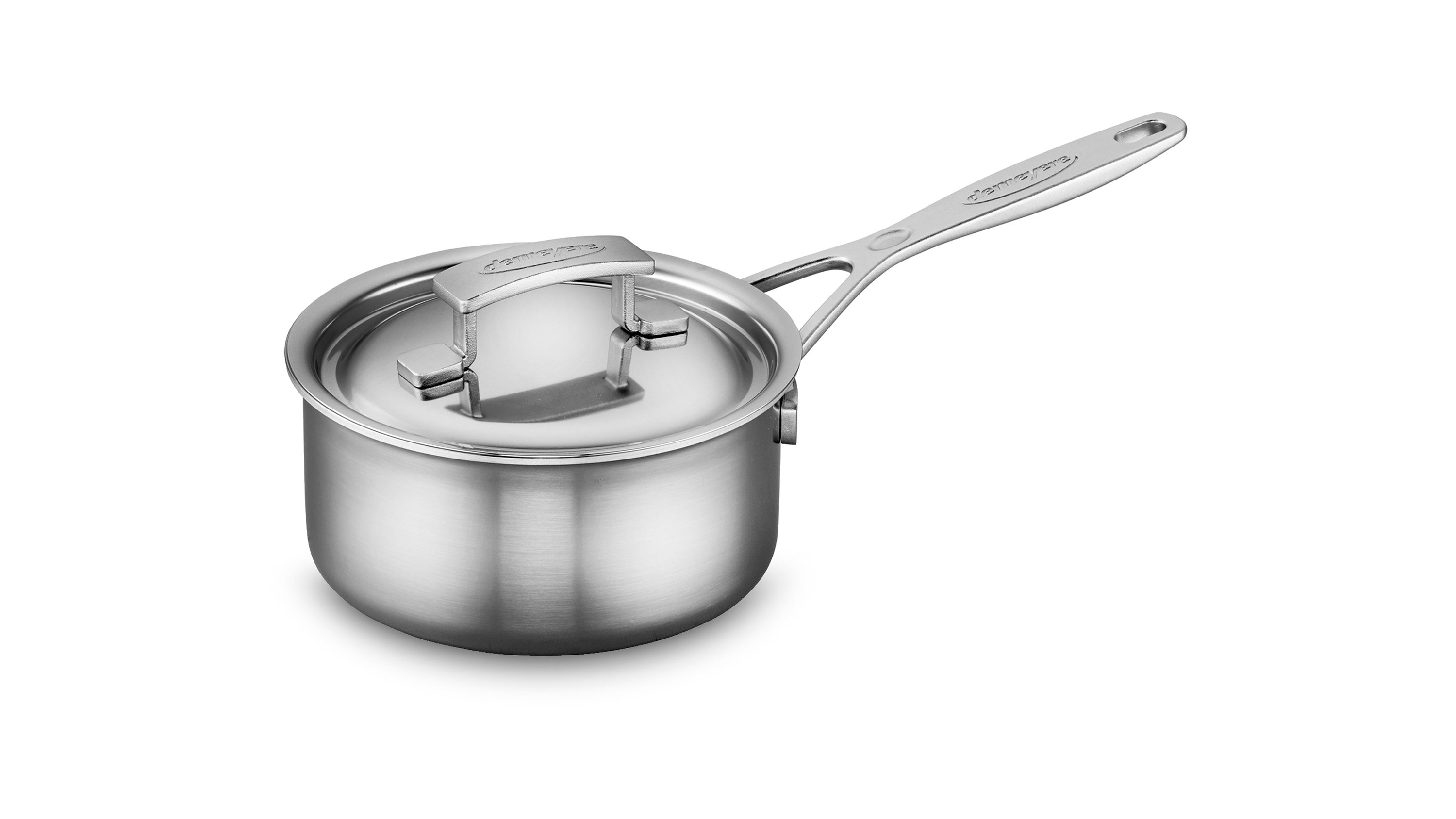 Demeyere Industry5 Stainless Steel Saucepan 1 5 Quart