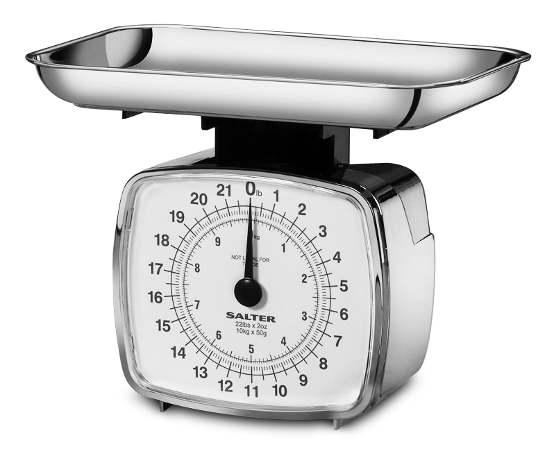 Salter high capacity mechanical kitchen scale 22 pound for How much is a kitchen scale