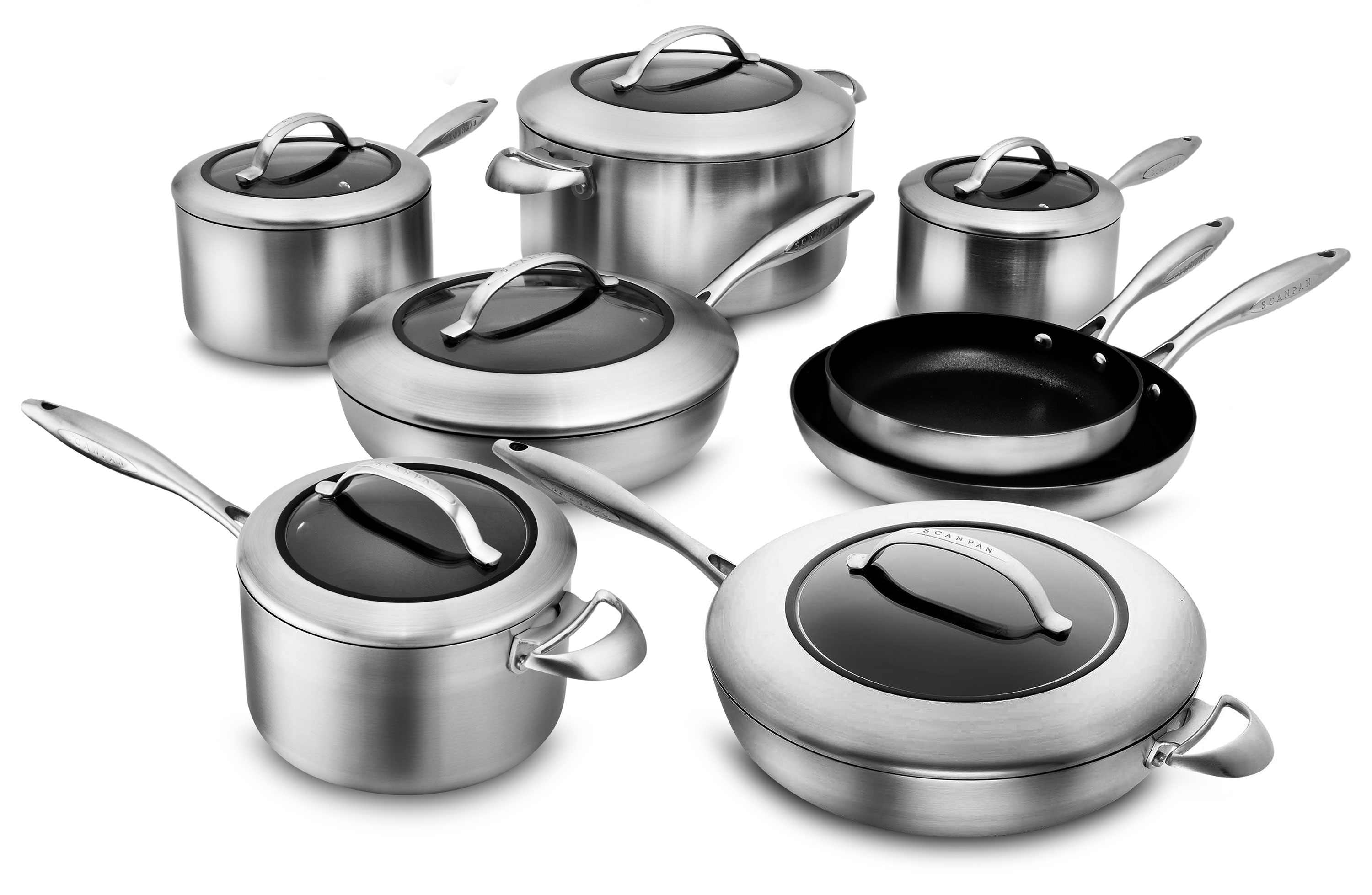 Scanpan Ctx Cookware Set New Stratanium Nonstick 14
