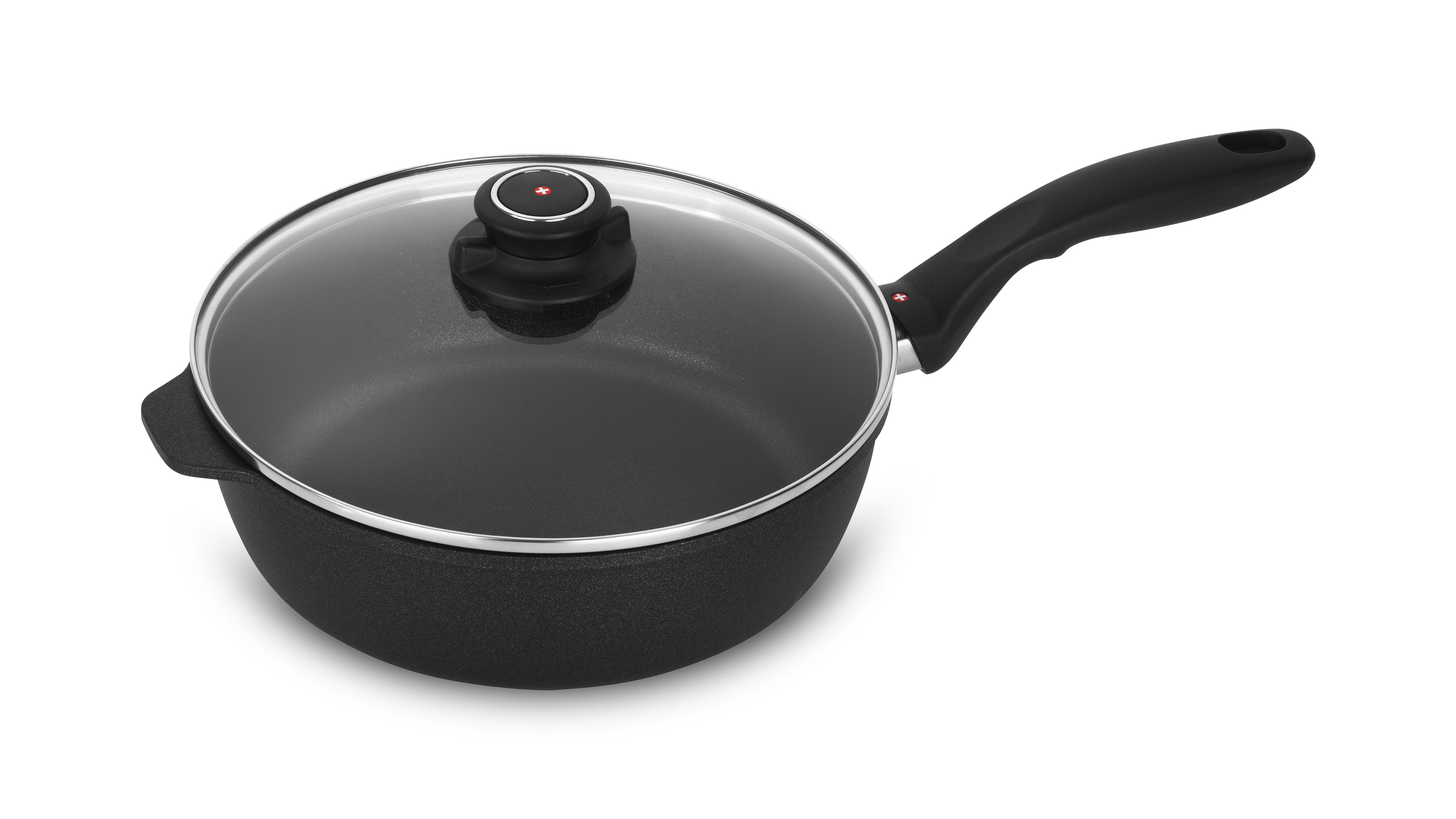 Swiss Diamond Xd Nonstick Induction Saute Pan With Lid 3