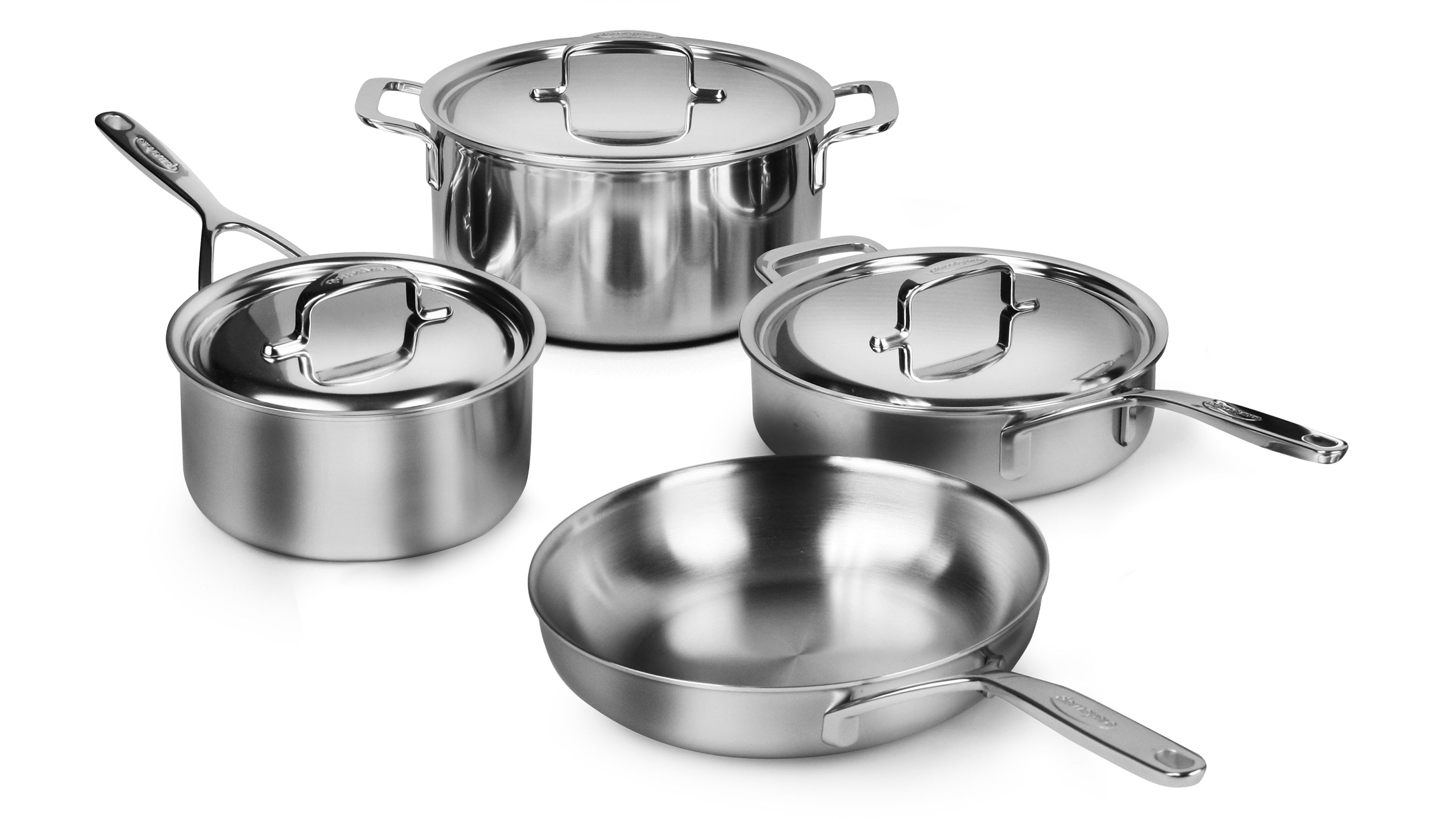 Demeyere Cookware Set 5 Ply Stainless Steel 5 Plus Pots