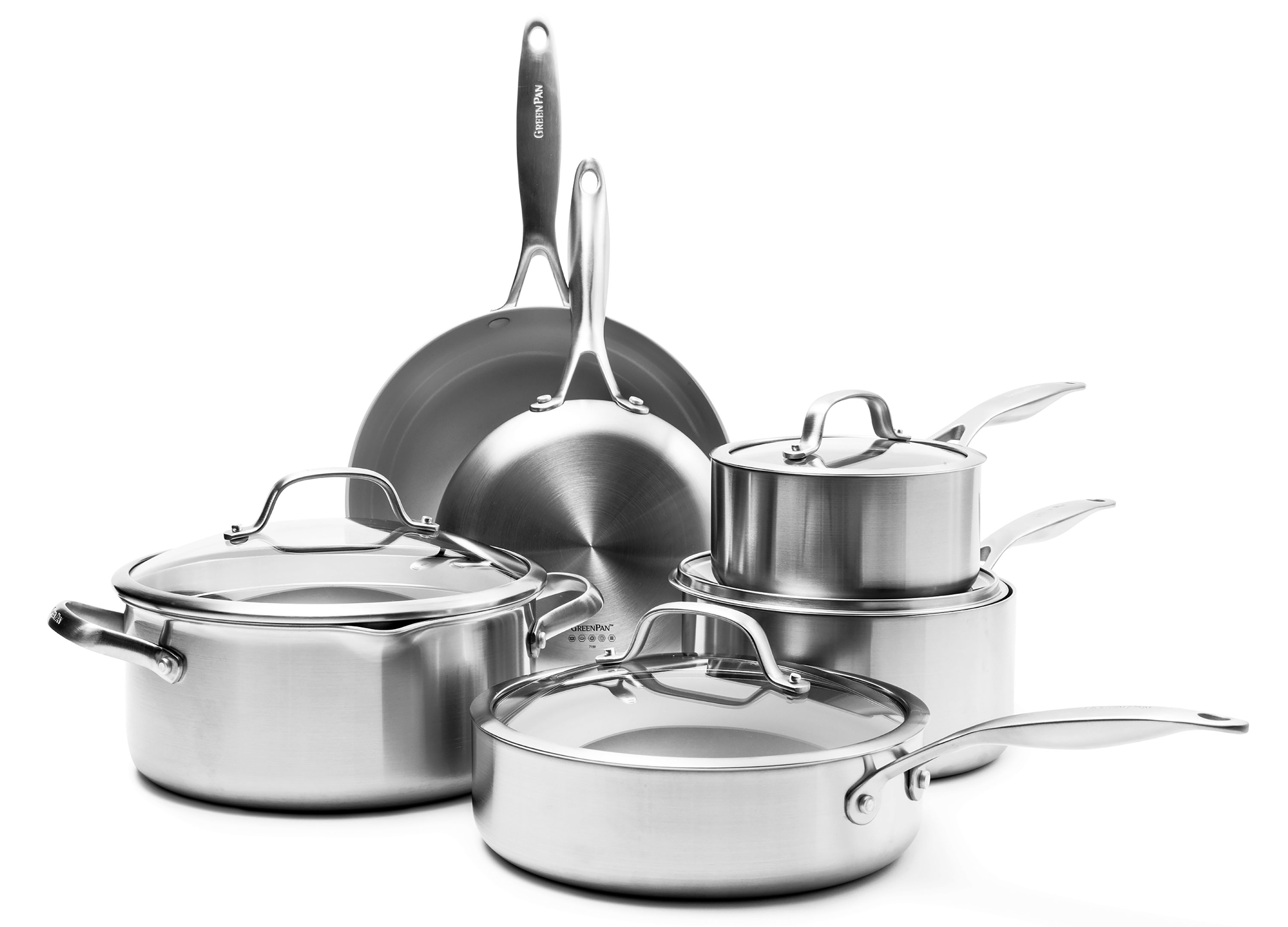Greenpan Venice Pro Nonstick Cookware Set 10 Piece