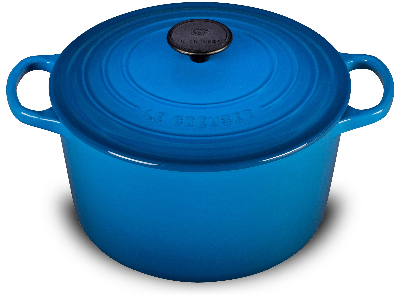 Le Creuset Cast Iron Deep Round Dutch Oven 5 25 Quart