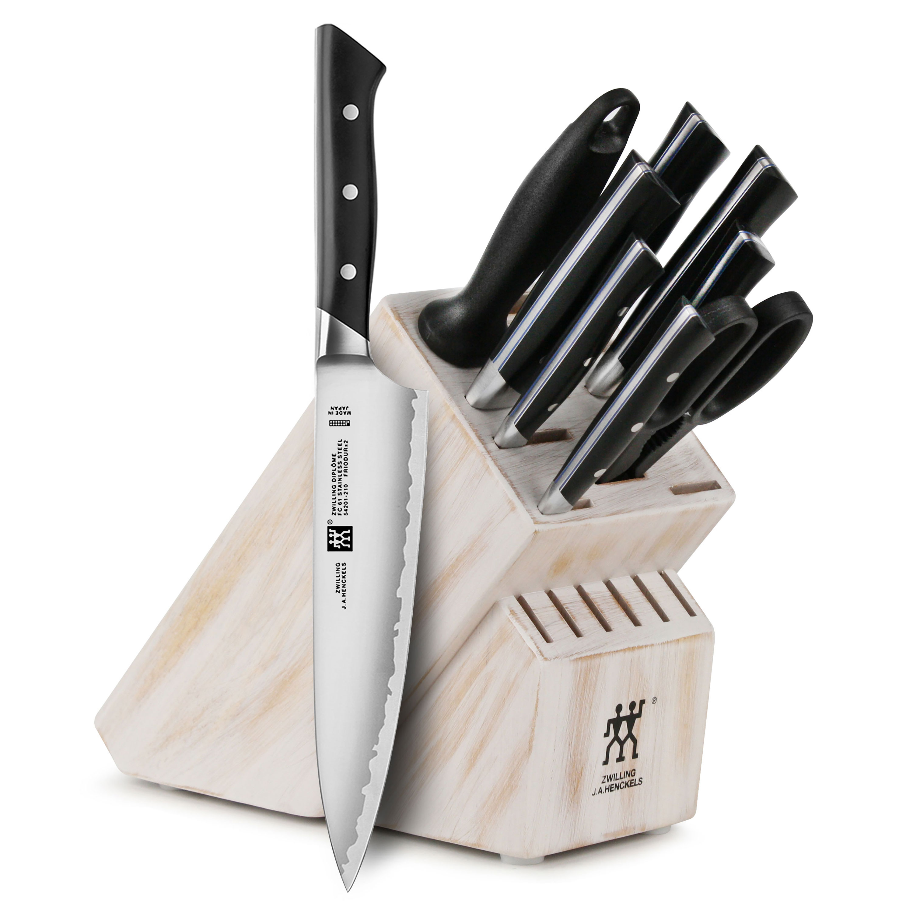 Zwilling J A Henckels Diplome Knife Block Set 10 Piece