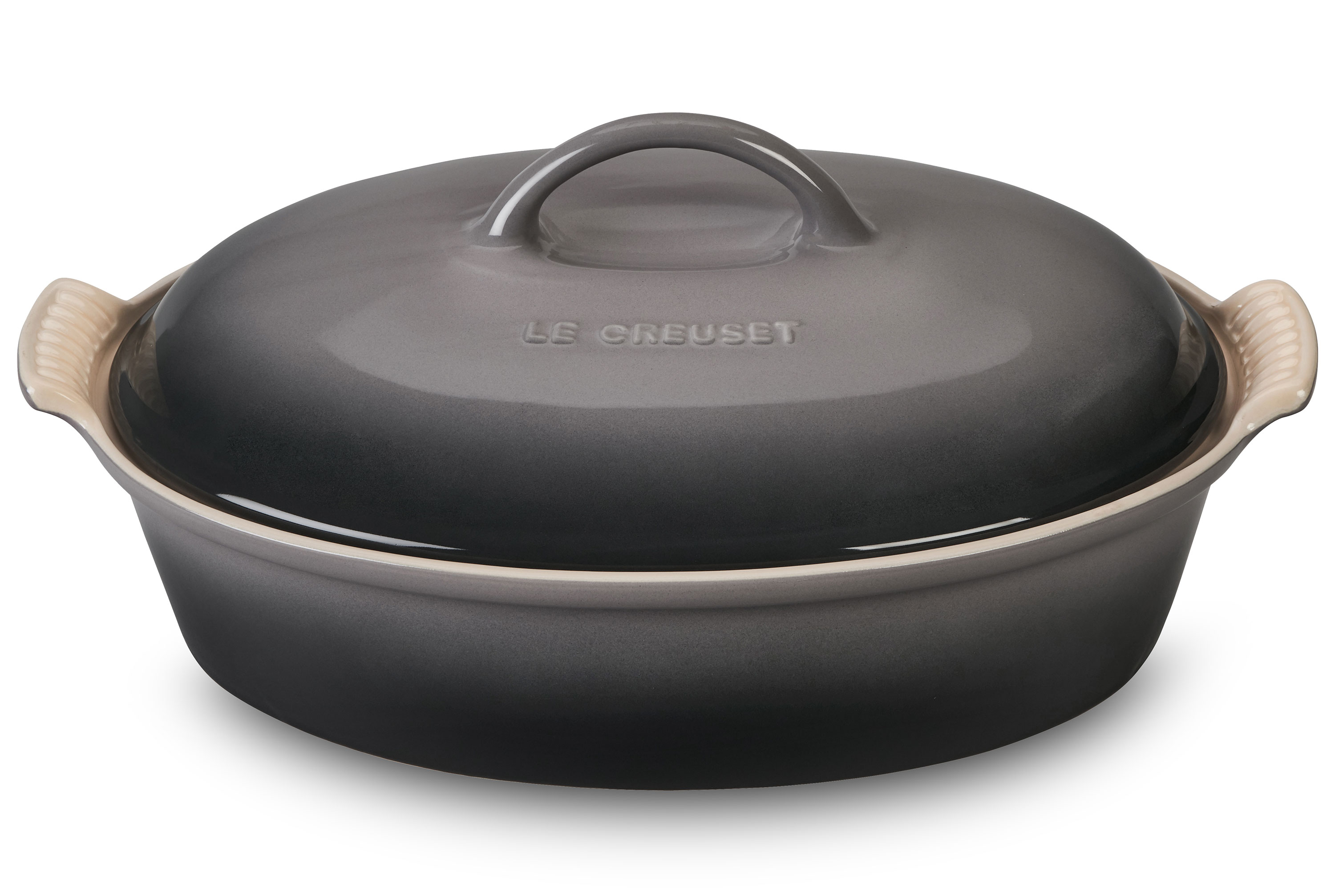 Le Creuset Stoneware Heritage Covered Oval Casserole 4