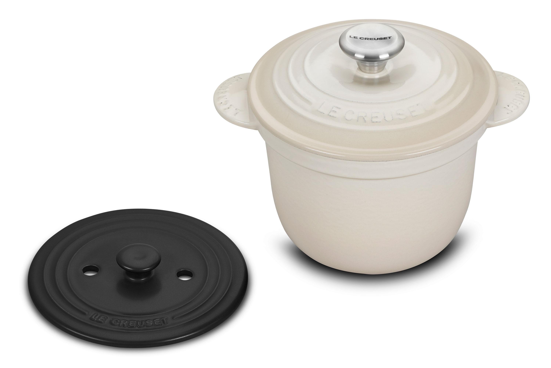 Le Creuset Signature Cast Iron Rice Pot With Stoneware Insert