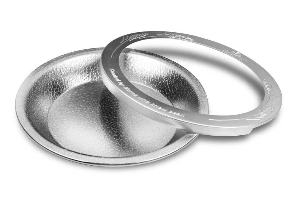 Doughmakers Pie Pan With Crust Protector 9 Quot Cutlery And