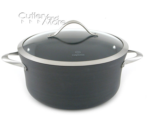 Calphalon Contemporary Nonstick Stock Pot 6 5 Quart