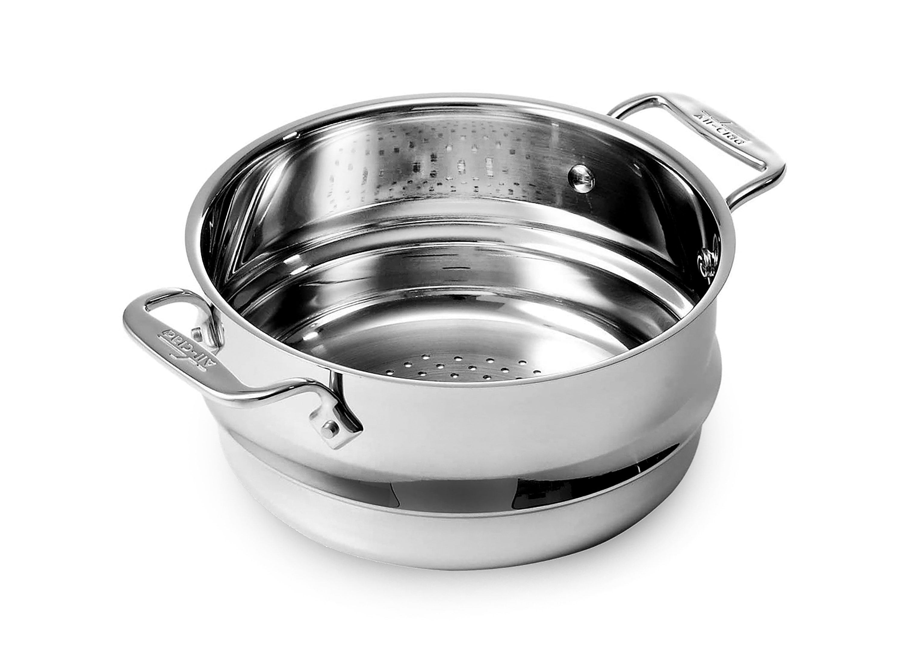 All Clad Stainless Steamer Insert 8 Quart Cutlery And More