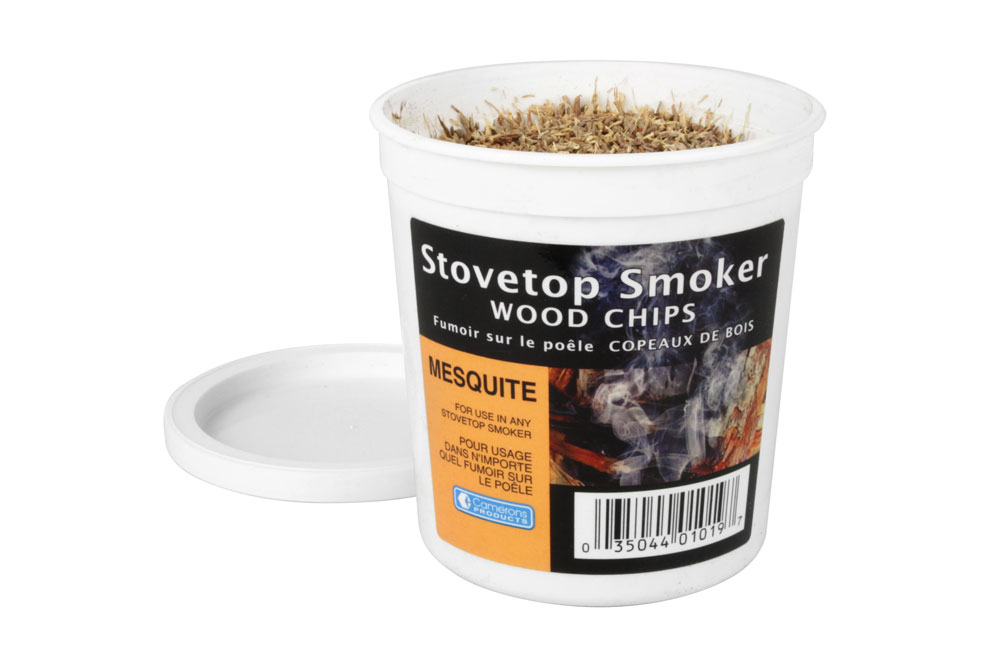 Camerons Stovetop Smoker Wood Chips 1pt Mesquite