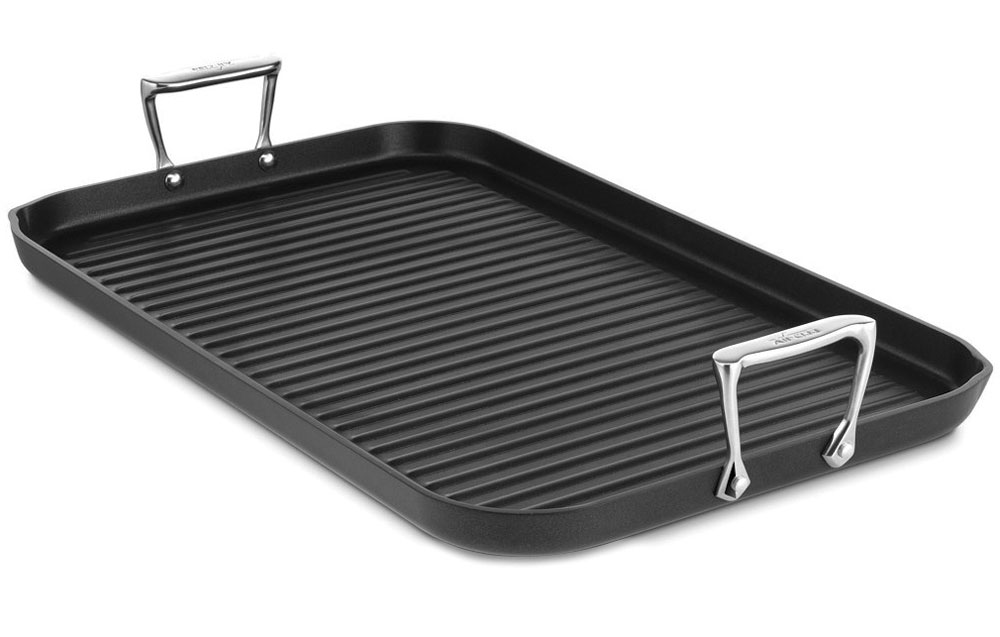 All Clad Nonstick Grande Grill Pan 20x13 Quot Cutlery And More