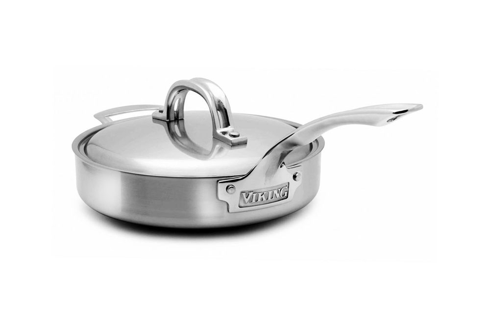Viking V7 Stainless Steel Saute Pan 2 Quart Cutlery And