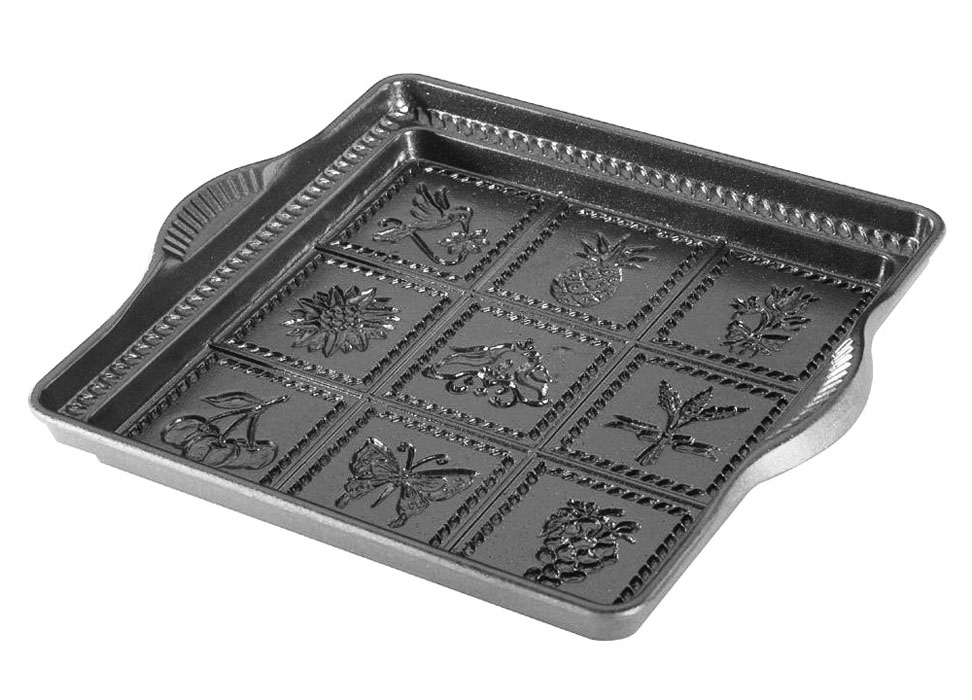 Nordicware Square English Shortbread Pan 9 Quot Cutlery And