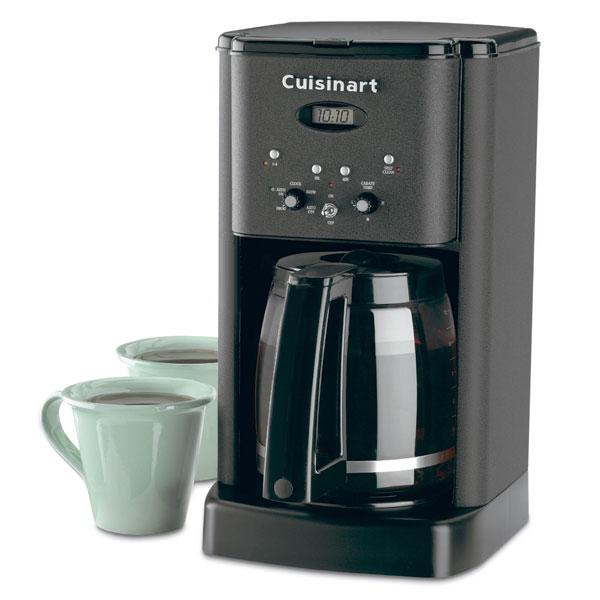 Cuisinart Brew Central Coffee Maker 12 Cup Matte Black
