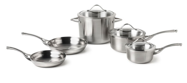 Calphalon Contemporary Stainless Signature Cookware Set 8