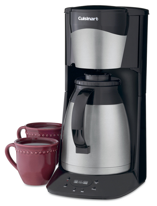 Cuisinart Coffee Maker How Much Coffee To Use : Cuisinart Programmable Thermal Coffee Maker, 12-cup Black ...