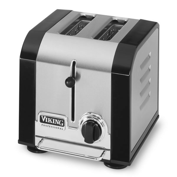Viking Professional Toaster 2 Slot Black Cutlery And More
