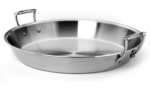 All Clad Original Stainless Paella Pan 17 25 Inch