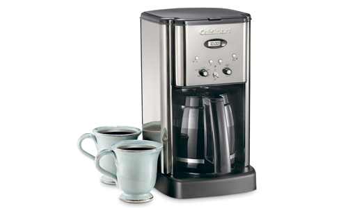 Cuisinart Coffee Maker How Much Coffee To Use : Cuisinart Brew Central Coffee Maker, 12-cup Black Chrome ...