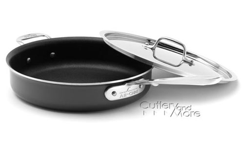 All Clad D5 Ltd2 Nonstick Saute Pan 3 Quart Cutlery And