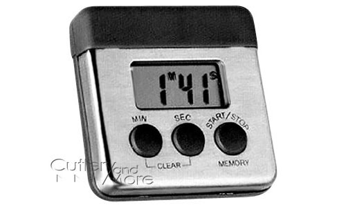 Superieur Amco Stainless Steel Digital Kitchen Timer With Magnetic Clip | Cutlery And  More