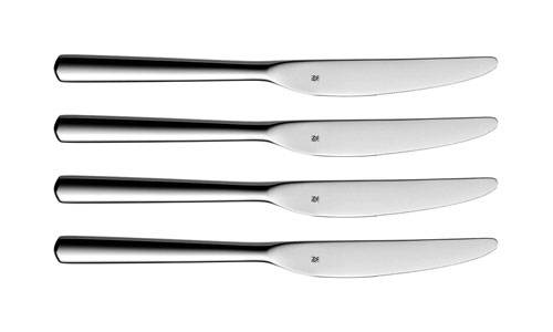 wmf bistro stainless steel dinner knife set 4 piece. Black Bedroom Furniture Sets. Home Design Ideas