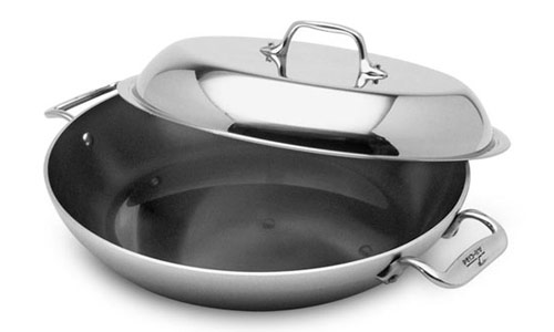 All Clad Master Chef 2 Petite Braiser Pan With Lid 2