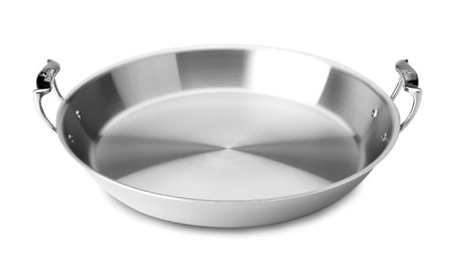 All Clad Stainless Paella Pan 16 Inch Cutlery And More