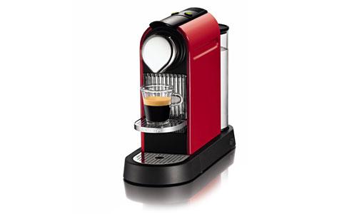 Nespresso Citiz Coffee & Espresso Maker, Fire Engine Red Cutlery and More