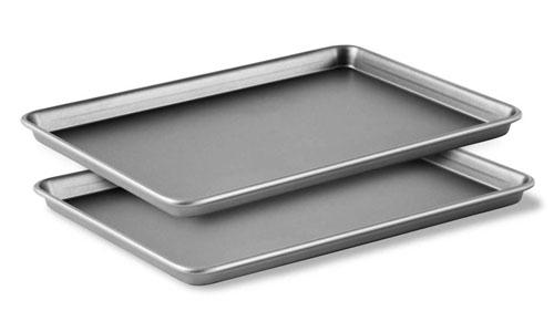 Calphalon Nonstick Jelly Roll Pan Set 2 Piece Cutlery