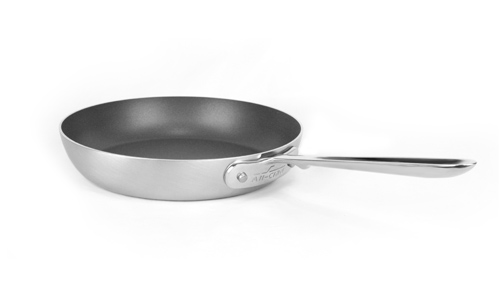 All Clad D5 Brushed Stainless Nonstick French Skillet 9