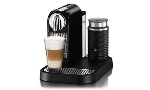 Nespresso Citiz Espresso Maker with Milk Frother, Black Cutlery and More