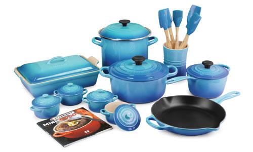 Le Creuset Signature Cast Iron 20-piece Cookware Sets