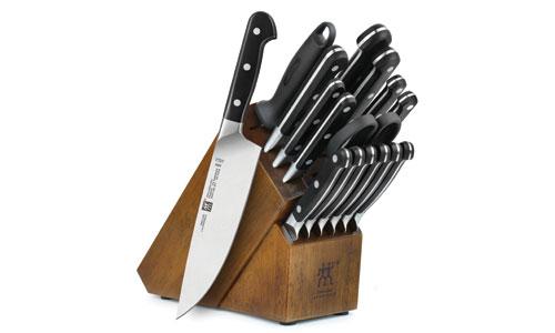 Zwilling J A Henckels Pro Knife Block Set 17 Piece