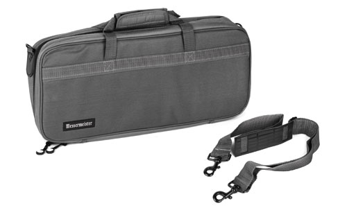messermeister 16 pocket chef 39 s knife bag gray cutlery and more. Black Bedroom Furniture Sets. Home Design Ideas