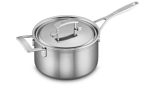 Demeyere Industry5 Stainless Steel Saucepan 2 Quart