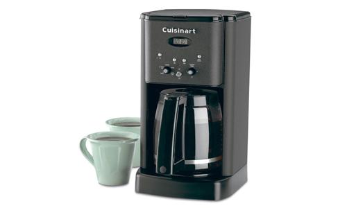 Cuisinart Coffee Maker Matte Black : Cuisinart Brew Central Coffee Maker, 12-cup Matte Black Cutlery and More