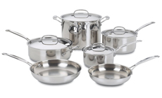 Cuisinart Chef's Classic Stainless Steel Premier Cookware Set