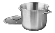Calphalon Contemporary Stainless Disk Bottom Stock Pot