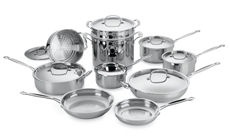 Cuisinart Chef's Classic Stainless Steel Ultimate Cookware Set