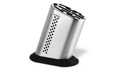 Global Stainless Steel Knife Holder with Dot Design