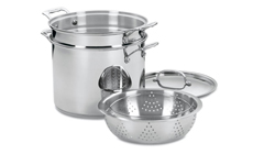 Cuisinart Chef's Classic Stainless Steel Pasta & Steamer Stock Pot Set
