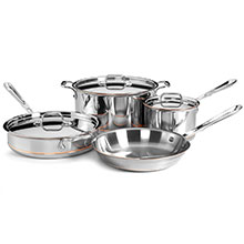 All-Clad Copper Core Signature Cookware Set